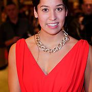 NLD/Den Haag/20111212 - NOC / NSF Sportgala 2011, Sportvrouw van het jaar 2011 zwemster Ranomi Kromowidjo