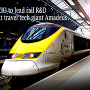 Picture by Vicky Matthers iconphotomedia  Eurostar CIO Christophe Lemaire, Euston Station, London<br /> Friday 14th September 2012