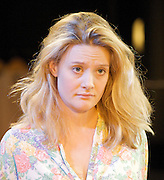 The Village Bike<br /> by Penelope Skinner<br /> directed by Joe Hill-Gibbins<br /> at The Royal Court Theatre, London, Great Britain <br /> press photocall<br /> 30th June 2011<br /> <br /> <br /> Romola Garai (as Becky)<br /> <br /> Photograph by Elliott Franks