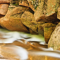 Cascade Brook in New Hampshire's Franconia Notch State Park.