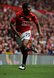 Antonio Valencia of Manchester United in action during the Barclays Premier League match between Manchester United and Birmingham City at Old Trafford on August 16, 2009 in Manchester, England.