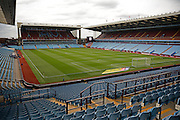 Ground during the EFL Sky Bet Championship match between Aston Villa and Newcastle United at Villa Park, Birmingham, England on 24 September 2016. Photo by Alan Franklin.