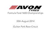 30.08.14 - Oulton Park