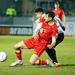 during the National League match between Dover Athletic FC and Hartlepool United FC at Crabble Stadium, Kent on 24 November 2018. Photo by Matt Bristow.