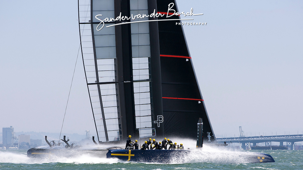 Day 7 Artemis Racing. 3rd of August, 2013, Alameda, USA