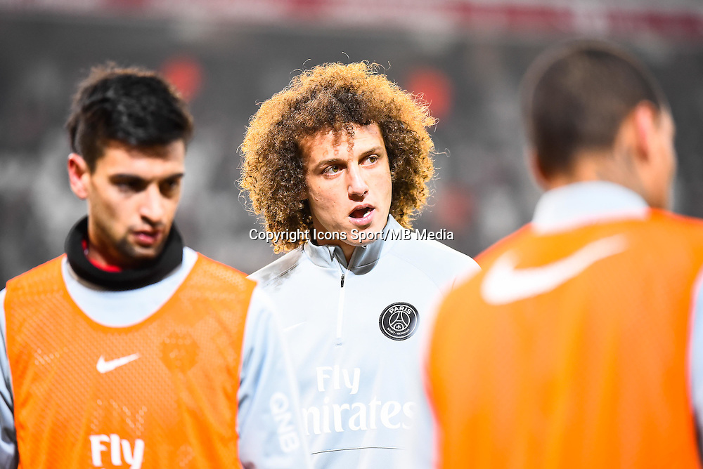 David LUIZ - 03.12.2014 - Lille / Paris Saint Germain - 16eme journee de Ligue 1 -<br />