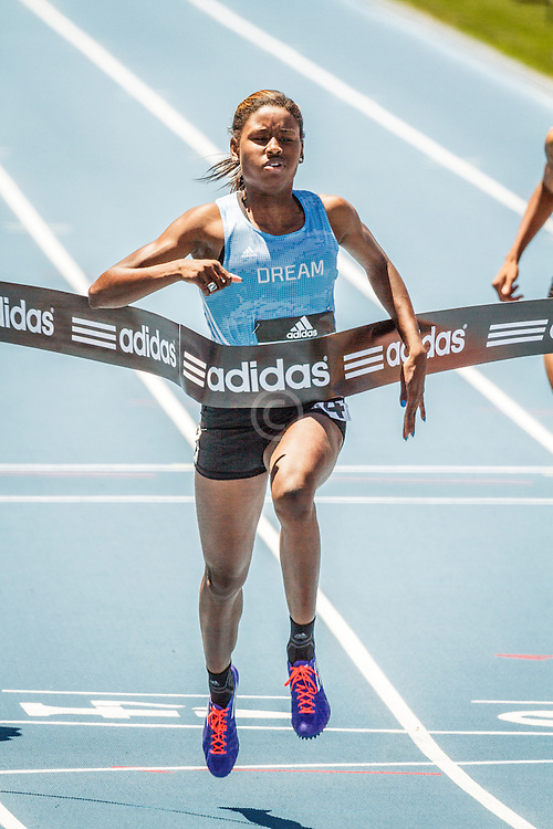 adidas Grand Prix Diamond League Track & Field: Girls adidas Dream 100m, Candace Hill
