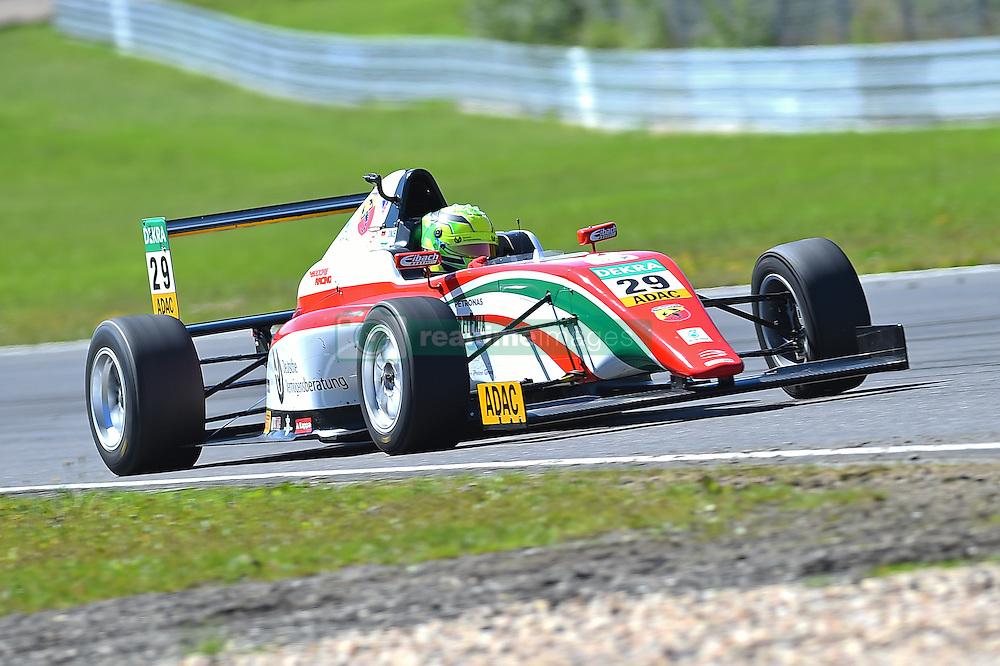 2. Platz beim zweiten Sonntagsrennen: Mick Schumacher beim Formel 4 Rennen auf dem N&uuml;rburgring / 070816<br /> <br /> *** ADAC Formula Four championship at Nurburgring on August 7, 2016 in Nurburg, Germany ***