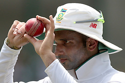 July 20, 2018 - Colombo, Sri Lanka - South African cricketer Keshav Maharaj  after taking 9 wickets  during the 2nd day's play in the 2nd test cricket match between Sri Lanka and South Africa at SSC International Cricket ground, Colombo, Sri Lanka on Saturday  21 July 2018  (Credit Image: © Tharaka Basnayaka/NurPhoto via ZUMA Press)