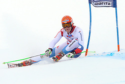 02.02.2014, Corviglia, St. Moritz, SUI, FIS Weltcup Ski Alpin, Riesenslalom, Herren, im Bild Patrick Kueng (SUI) // during the Mens Giant Slalom of the St. Moritz FIS Ski Alpine World Cup at the Corviglia course in St. Moritz, Switzerland on 2014/02/02. EXPA Pictures © 2014, PhotoCredit: EXPA/ Freshfocus/ Claude Diderich<br /> <br /> *****ATTENTION - for AUT, SLO, CRO, SRB, BIH, MAZ only*****