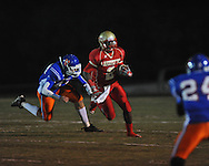 Lafayette High's D.K. Buford (2) runs vs. North Pontotoc at William L. Buford Stadium in Oxford, Miss. on Thursday, October 27, 2011..