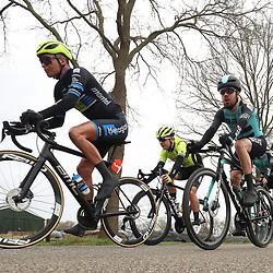 29-02-2020: Wielrennen: Ster van Zwolle: Zwolle<br />Dylan Bouwman, Alex Mengoulas