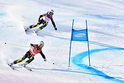 FARKASOVA Henrieta B3 SVK Guide: SUBRTOVA Natalia competing in ParaSkiAlpin, Para Alpine Skiing, Super G at PyeongChang2018 Winter Paralympic Games, South Korea.
