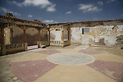 The remains of the Reduto Sao Pedro fort. Benguela, Angola. Africa. .Pictures © Z & D Lightfoot..www.lightfootphoto.co.uk