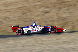 September 14, 2018 - Sonoma, California, United Stated - TONY KANAAN (14) of Brazil takes to the track to practice for the Indycar Grand Prix of Sonoma at Sonoma Raceway in Sonoma, California. (Credit Image: © Justin R. Noe Asp Inc/ASP via ZUMA Wire)