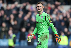 David Martin of Millwall looks dejected after his error that lead to Brightons equaliser - Mandatory by-line: Arron Gent/JMP - 17/03/2019 - FOOTBALL - The Den - London, England - Millwall v Brighton and Hove Albion - Emirates FA Cup Quarter Final