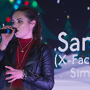 X-Factor's Sam Lavery to Switch on Christmas Lights at Stratford Centre inside Stratford Shopping Centre, 26th November 2016, London,UK. Photo by See Li