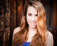 High School Senior Portrait, Boulder Creek, Rustic Senior Portrait