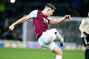 Burnley defender James Tarkowski 5) during the Premier League match between Burnley and Manchester United at Turf Moor, Burnley, England on 28 December 2019.