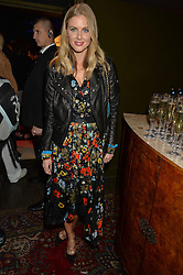 DONNA AIR at a party to celebrate the 1st anniversary of Hello! Fashion Monthly magazine held at Charlie, 15 Berkeley Street, London on 14th October 2015.