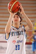 Porto San Giorgio, 05/06/07<br /> Basket, nazionale italiana maschile<br /> bianchi vs blu<br /> nella foto: michele antonutti<br /> foto ciamillo