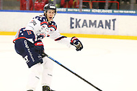 2018-11-14 | Ljungby, Sweden: Mörrums (11) Martin Fransson during the game between Troja Ljungby and Mörrums GoIS at Ljungby Arena ( Photo by: Fredrik Sten | Swe Press Photo )<br /> <br /> Keywords: Icehockey, Ljungby, HockeyEttan, Troja Ljungby, Mörrums GoIS, Ljungby Arena div1, division, troja, ljungby, mörrum, gois,