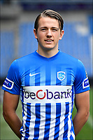 Fotball<br /> Belgia<br /> Foto: PhotoNews/Digitalsport<br /> NORWAY ONLY<br /> <br /> GENK, BELGIUM - FEBRUARY 21 : <br /> Sander Boli Berge midfielder of KRC Genk during making a new Team Photo with the new players on February  21, 2017 in Genk, Belgium, 21/02/17