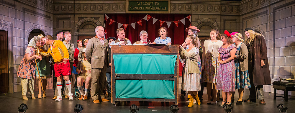 Dress rehearsal of The Sorcerer performed by the National Gilbert &amp; Sullivan Opera Company with the National Festival Orchestra in Buxton Opera House, Buxton, England on Saturday 04 August 2018 Photo: Jane Stokes<br />