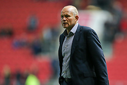 Bristol Rugby Director of Rugby Andy Robinson looks frustrated - Rogan Thomson/JMP - 14/10/2016 - RUGBY UNION - Ashton Gate Stadium - Bristol, England - Bristol Rugby v Saracens - EPCR Challenge Cup.