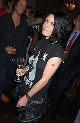 Artist SUE WEBSTER  at a party to celebrate the publication of Strangeland by artist Tracey Emin at 33 Portland Place, London W1 ON 21ST OCTOBER 2005.<br /><br />NON EXCLUSIVE - WORLD RIGHTS