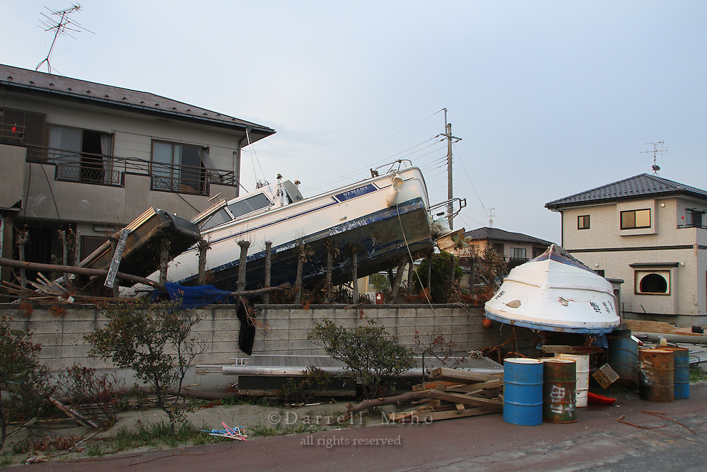 May 16, 2011; Watari, Miyagi Pref., Japan - Damage after the magnitude 9.0 Great East Japan Earthquake and Tsunami that devastated the Tohoku region of Japan on March 11, 2011.
