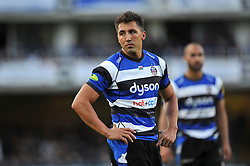 Gavin Henson of Bath Rugby - Photo mandatory by-line: Patrick Khachfe/JMP - Mobile: 07966 386802 01/11/2014 - SPORT - RUGBY UNION - Bath - The Recreation Ground - Bath Rugby v London Welsh - LV= Cup