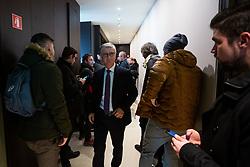 Franjo Bobinac president of Slovenian handball federation during press conference of Slovenian handball federation, Hotel Intercontinental, 17. December 2019, Ljubljana, Slovenia. Grega Valancic / Sportida