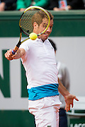 Paris, France. Roland Garros. May 27th 2013.<br /> French player Richard GASQUET against Sergiy STAKHOVSKY