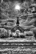 Old church, , Saskatchewan, Canada