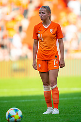 01-06-2019 NED: Netherlands - Australia, Eindhoven<br /> <br /> Friendly match in Philips stadion Eindhoven. Netherlands win 3-0 / Jackie Groenen #14 of The Netherlands