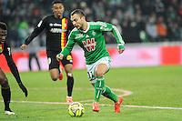 Yohan MOLLO  - 06.02.2015 - Saint Etienne / Lens - 24eme journee de Ligue 1 -<br /> Photo : Jean Paul Thomas / Icon Sport