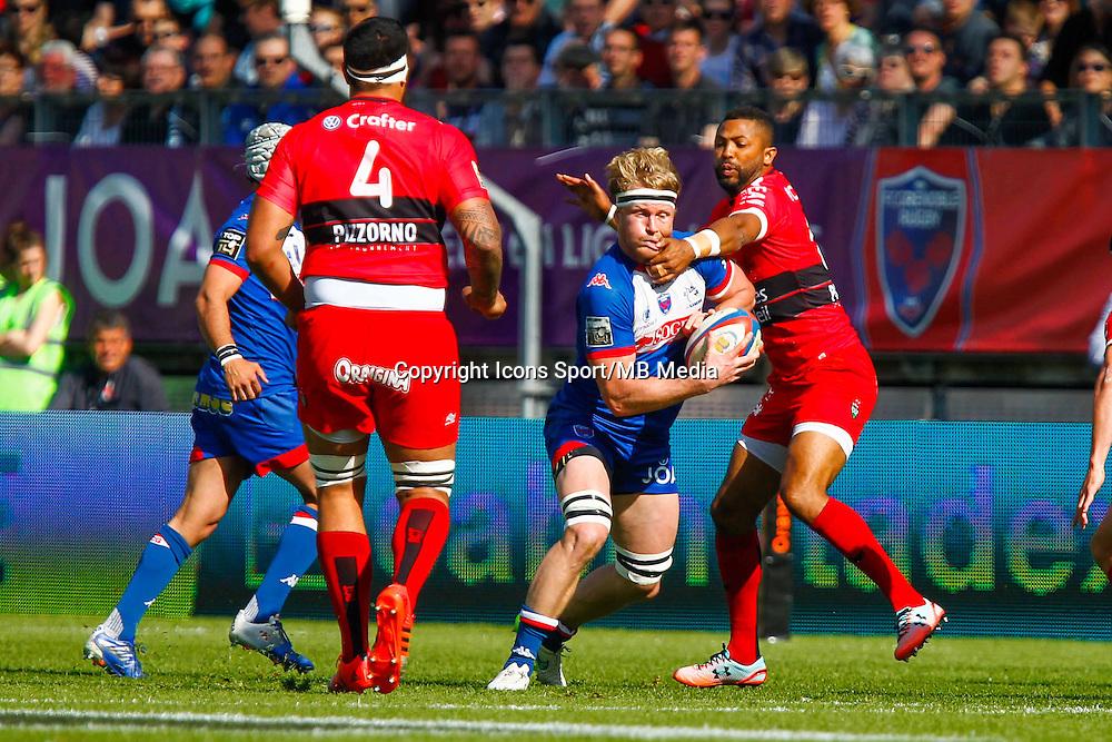 Henry VANDERGLAS  - 11.04.2015 - Grenoble / Toulon  - 22eme journee de Top 14 <br />Photo :  Jacques Robert / Icon Sport