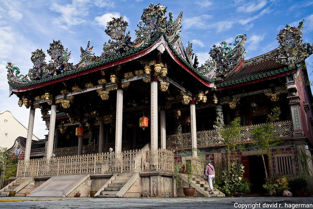 Exterior of main temple building, Khoo Kongsi