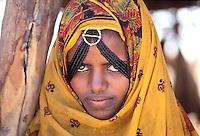 Erythree, femme d ethnie Tigré // Eritrea, Tigré ethnic group woman