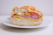 Ham & Cheese Sandwich from Superior Late Night Deli ($4.50) - WFH - chest cold
