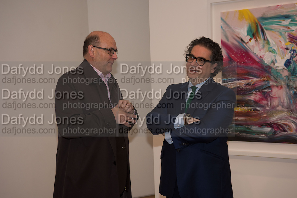 CHRIS KNEALE; ANDREW RENTON, Jason Brooks private view Marlborough Contemporary, Albermarle St. London. 9 June 2015