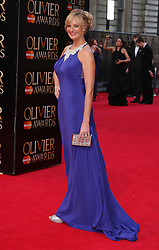 KATHERINE KINGSLEY attends The Laurence Olivier Awards at the Royal Opera House, London, United Kingdom. Sunday, 13th April 2014. Picture by i-Images