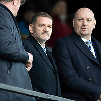 Ayr United v St Johnstone…..08.02.20   Somerset Park   Scottish Cup 5th Round<br />St Johnstone Chairman Steve Brown and Vice-Chairman Charlie Fraser<br />Picture by Graeme Hart.<br />Copyright Perthshire Picture Agency<br />Tel: 01738 623350  Mobile: 07990 594431