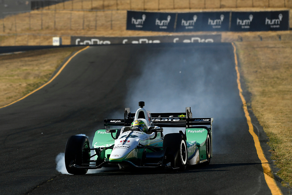 Verizon IndyCar Series<br /> GoPro Grand Prix of Sonoma<br /> Sonoma Raceway, Sonoma, CA USA<br /> Sunday 17 September 2017<br /> Zachary Claman DeMelo, Rahal Letterman Lanigan Racing Honda<br /> World Copyright: Scott R LePage<br /> LAT Images<br /> ref: Digital Image lepage-170917-son-11094