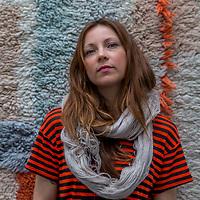 Nederland, Amsterdam, 17 maart 2017.<br /> Textile designer Mae Engelgeer.<br /> <br /> <br /> Foto: Jean-Pierre Jans