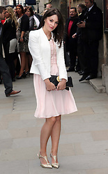 Paula Lane arriving for the wedding of Coronation Street actress Helen Worth  at St.James's Church in Piccadilly, London, Saturday 6th   April 2013.  Photo by: Stephen Lock / i-Images