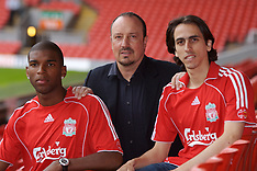 070713 Liverpool sign Benayoun and Babel