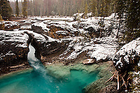 The Kicking Horse River at the Natural Bridge in Yoho National Park.  Near Field, BC...©2008, Sean Phillips.http://www.Sean-Phillips.com