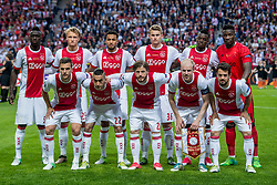 24-05-2017 SWE: Final Europa League AFC Ajax - Manchester United, Stockholm<br /> Finale Europa League tussen Ajax en Manchester United in het Friends Arena te Stockholm / Ajax Team